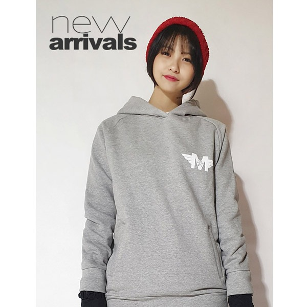 Pictogram Grey hoodie promotion