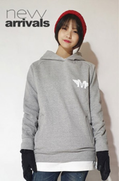 Pictogram Grey hoodie promotion 11.09~11.29